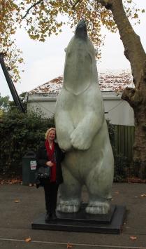 Sarah and bear